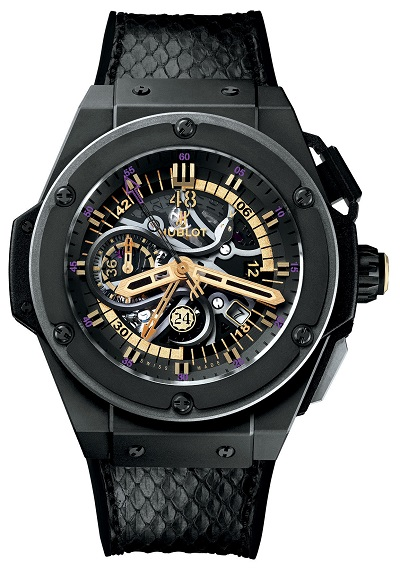 Kobe Bryant's Limited Edition Black Mamba Hublot time piece